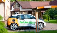 The future parks here — Будущее паркуется здесь! Начала работу вторая зарядная станция для электромобилей