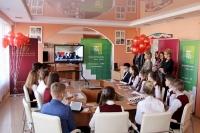 «Беларусбанк» и Национальный банк организовали телемост между белорусскими и зарубежными учащимися