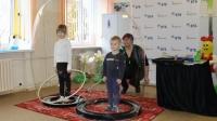 Банк ВТБ организовал очередной детский праздник в слонимской больнице